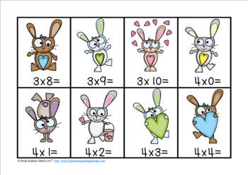 Easter Multiplication Race