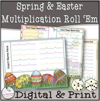 Easter Multiplication Roll 'Em