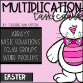 EASTER Multiplication Task Cards