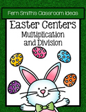 Easter Multiplication and Division Math Center Games