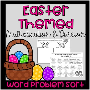 Easter Multiplication And Division Teaching Resources | Teachers Pay ...