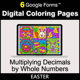 Easter: Multiplying Decimals by Whole Numbers - Digital Co