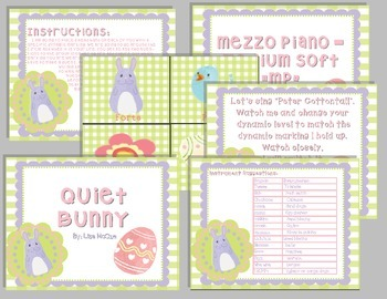 Easter Music Activitites for the Koday, Orff, Elementary General Music Classroom