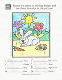 Easter Music Activity Sheet