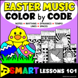 Easter Music Color by Code Color by Note Color by Rhythm Color by Dynamics Tempo