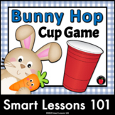 Easter Music Game: Bunny Hop Cup Game Rhythm Activity Spring Music Activities