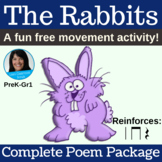 "Free Movement Poem | ""The Rabbits"" by Lisa Gillam 