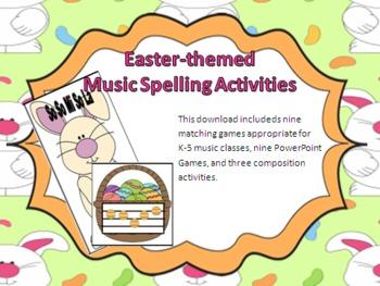 Easter Music Spelling Bundle