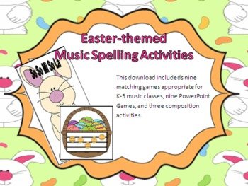 Easter Music Spelling Bundle