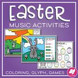Easter Music Worksheets