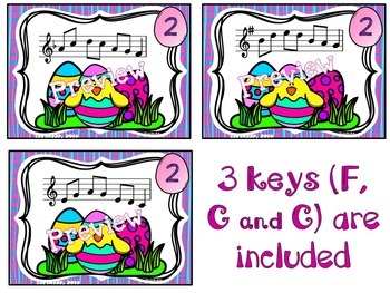 Easter Musical Scavenger Hunt (Pentatonic)