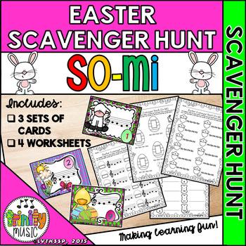 Easter Musical Scavenger Hunt (So-Mi)