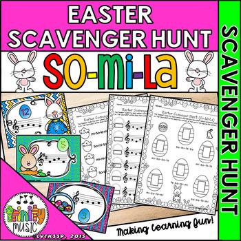 Easter Musical Scavenger Hunt (So-Mi-La)
