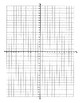 Easter Mystery Graph Coordinate Graphing - All 4 Quadrants, Whole Numbers