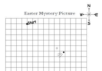 Easter Mystery Picture Compass