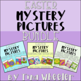 Easter Mystery Pictures Addition Subtraction Within 20 Bundle