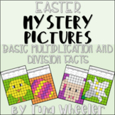Easter Mystery Pictures Basic Multiplication and Division Facts