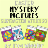Easter Mystery Pictures Subtraction Within 20 ~ Fact Fluency
