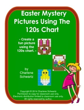 Easter Mystery Pictures Using the 120s Chart