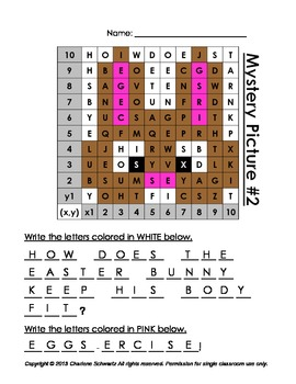 Easter Mystery Pictures and Hidden Messages