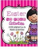 Easter NO PREP Activities and Printables