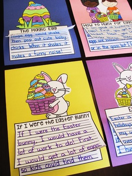 Easter Writing Craft Activities No Prep