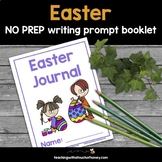 Easter NO PREP Writing Prompts Booklet