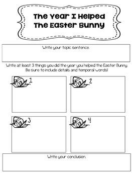 Easter Narrative Writing