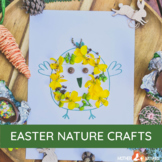 Easter Nature Craft Printables   EASTER CRAFT   Easter spring activity   Spring