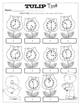 Easter No Prep Math & Literacy Packet for Morning Work, Seatwork, Centers