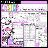 Easter No Prep Math and Literacy