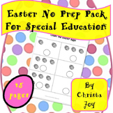 Easter No Prep Pack for Special Education