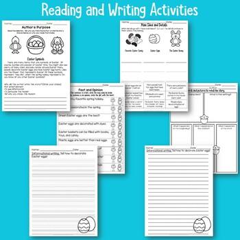 Easter No Prep Printables