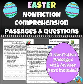 Easter Nonfiction Comprehension Passages