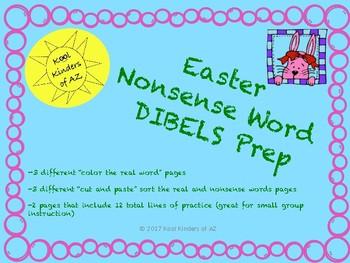 Spring Nonsense Word DIBELS Prep