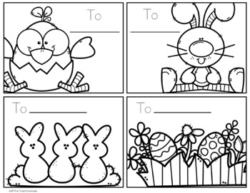 Easter Note Cards FREE