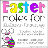 Easter Notes for Distance Learning