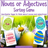 Nouns or Adjectives Sort    Easter Theme