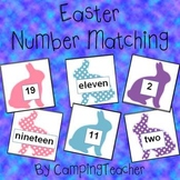 Easter Number Matching 1-20 Math Center