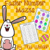 Easter Number Mazes ~ Math Games ~ Math Centers