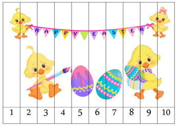 Easter Number Puzzles