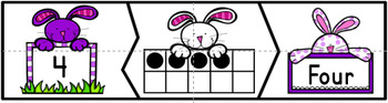 Easter Counting Puzzles