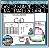 Number Sense Activities for Primary Centers: Easter Edition