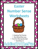 Easter Number Sense Worksheets
