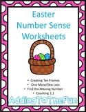 Easter Number Sense Worksheets