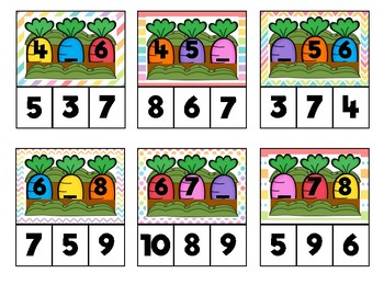 Easter Number Sequencing to 20