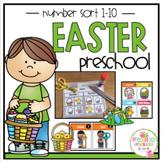 """Easter Number Sort 1-10 """"No Prep"""""""