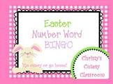 Easter Number Word Bingo--Zero-Twenty