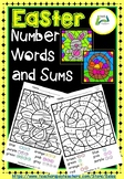Easter Number Words and Sums