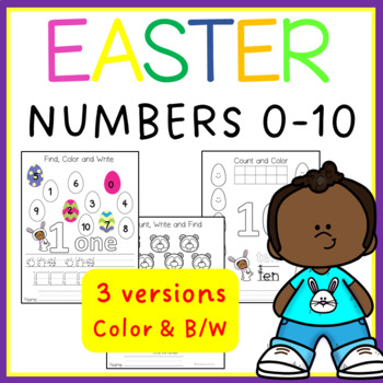 Easter Numbers 0-10